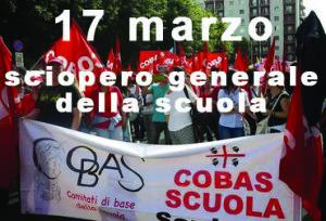 sciopero 17 marzo 2017